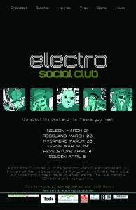 ESC tour poster